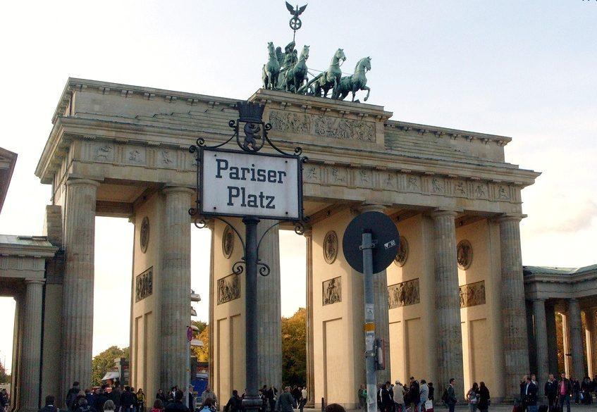 Portão de Brandemburgo - Brandenburger Tor - Portao Brandemburgo Berlim