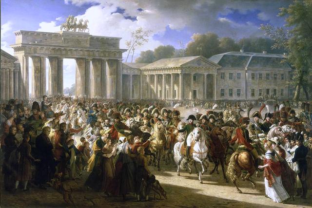 Napoleão triunfa em Berlim