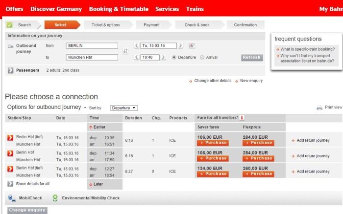 Como comprar passagem de trem na alemanha Deutsche Bahn tutorial