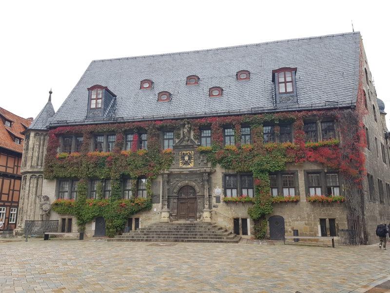 Prefeitura renascentista em Quedlinburg