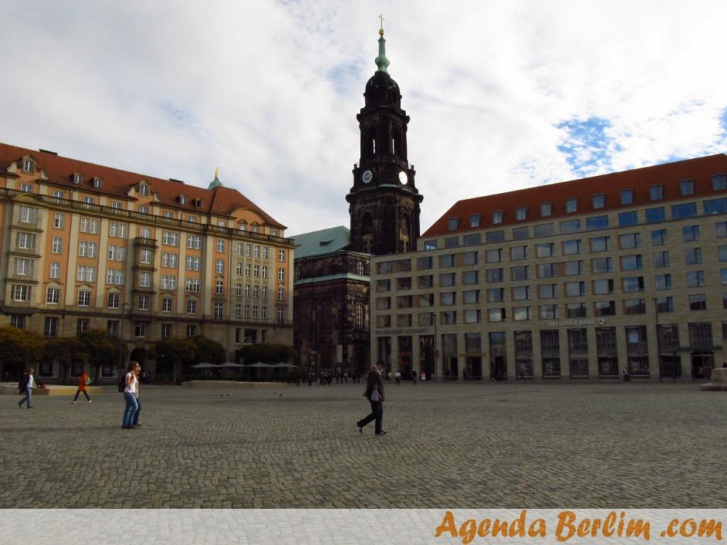 De Berlim a Dresden: altmarkt