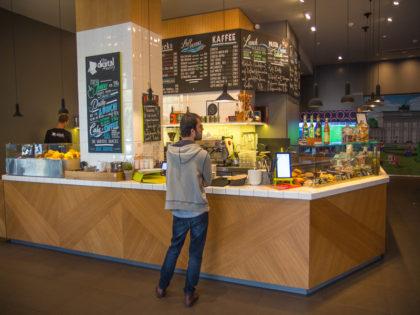 A Digital Eatery: um conceito moderno em um prédio histórico