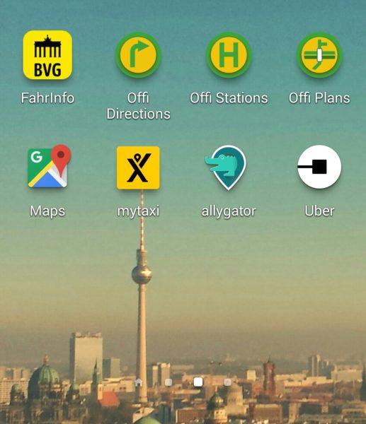 aplicativos de transporte em berlim