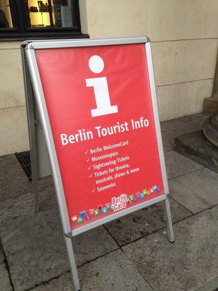 informação turística berlim