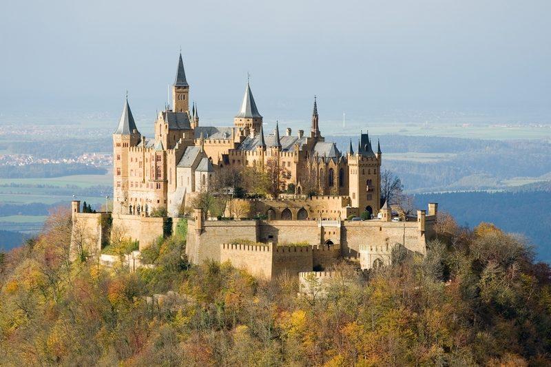 Hohenzollern castelo burgo Prussia Alemanha