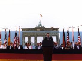 30 anos de Ronald Reagan em Berlim – Sr. Gorbachev, derrube este muro!