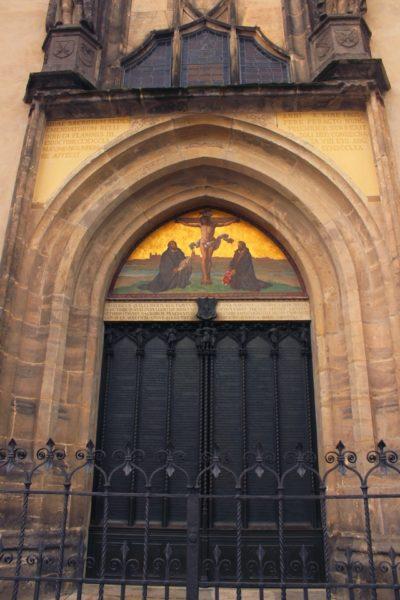 Wittenberg Igreja do Castelo Porta das 95 teses - Agenda Berlim