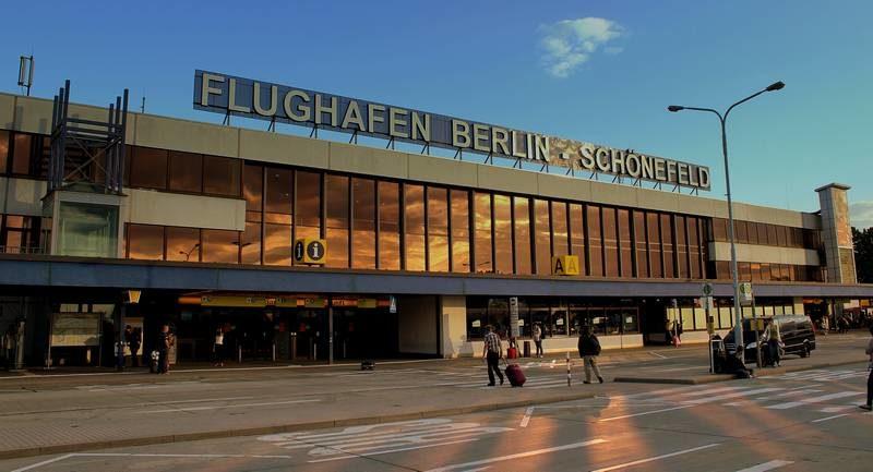 Do aeroporto ao centro de Berlim
