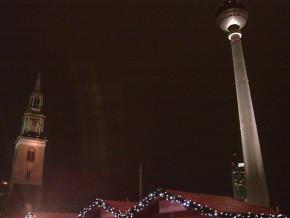 Mercado de Natal na Alexanderplatz