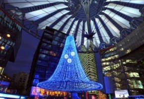 Mercado de Natal no Sony Center