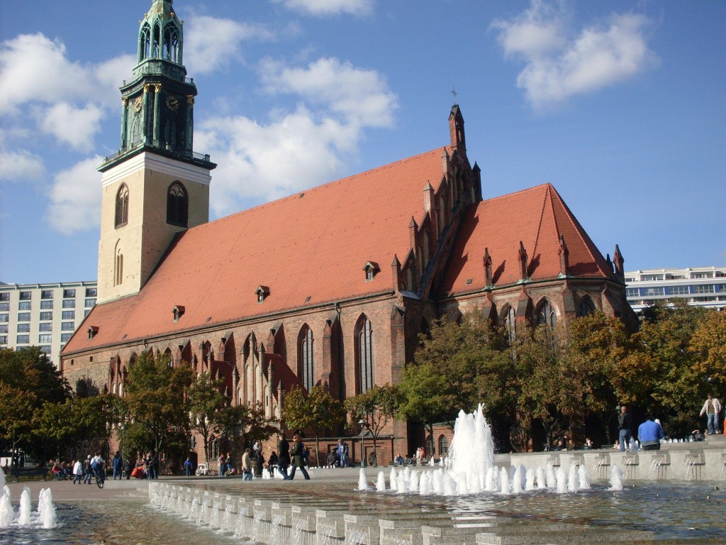 Marienkirche, um dos prédios mais antigos de Berlim