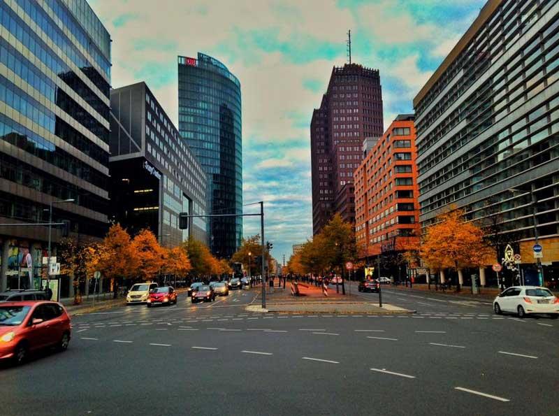 Potsdamer Platz Berlim Berlin