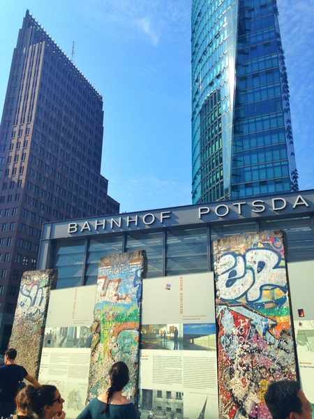 Potsdamer Platz e muro de Berlim - Agenda Berlim