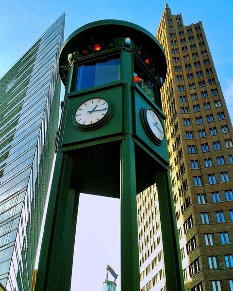 Potsdamer Platz semáforo sinal - Agenda Berlim