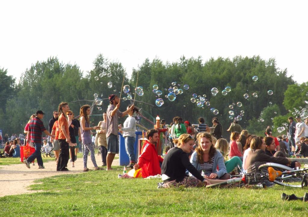 Mauerpark no verão - ©Pacelli Luckwu