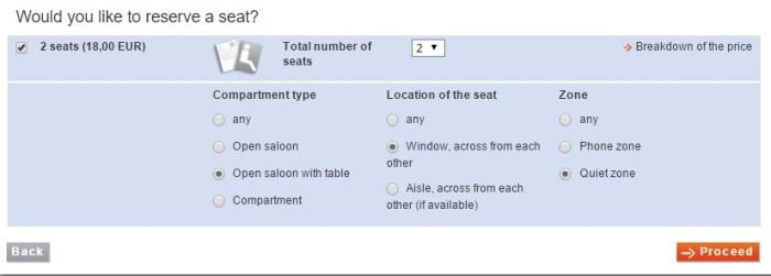 reservar assentos trem alemanha