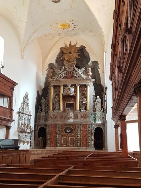 Altar barroco da Blasiikirche em Quedlinburg