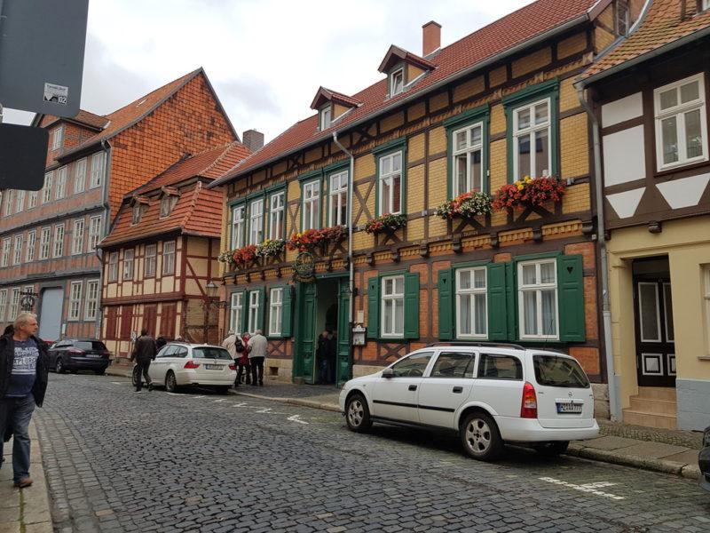 Cervejaria Lüdde em Quedlinburg
