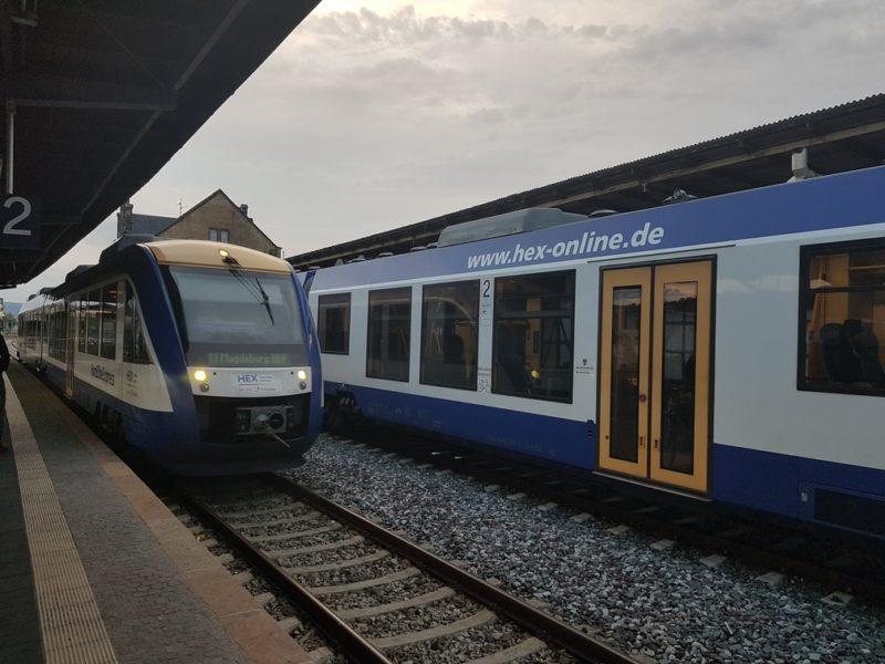 Trem para Quedlinburg