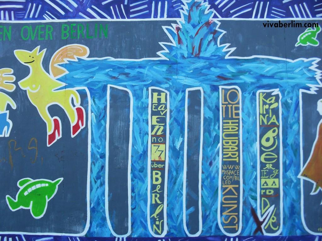 Pintura na East Side Gallery