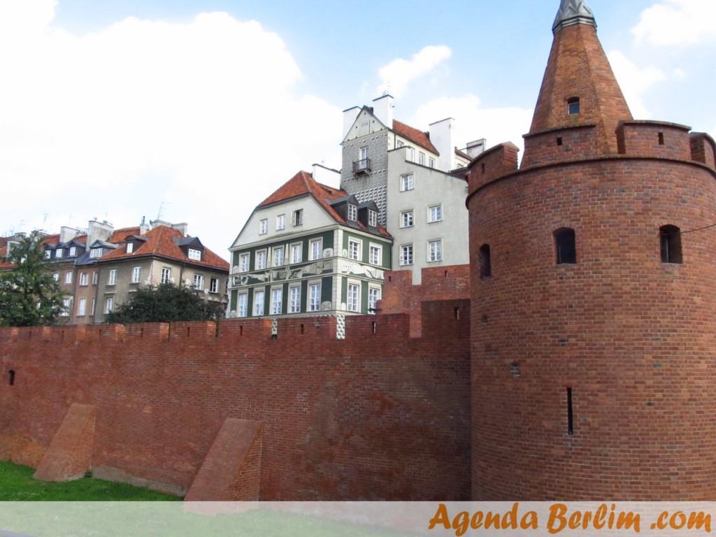 Barbican - defesa medieval de Cracóvia