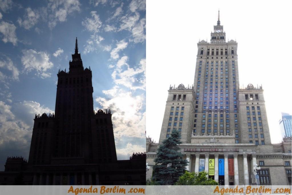 Centro de Cultura e Ciências de Varsóvia (Prédio mais alto ainda construído na época de Stalin)