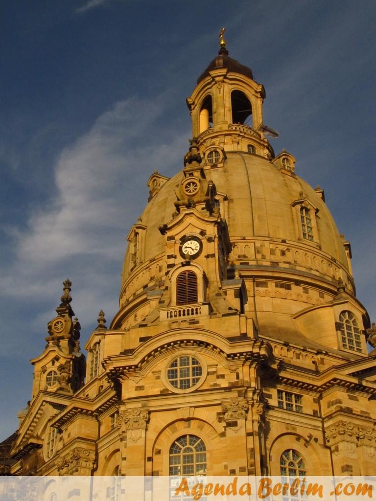 De Berlim a Dresden: Frauenkirche