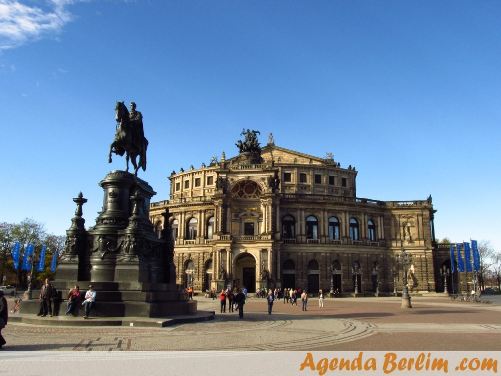 Semperoper - Ópera em Dresden