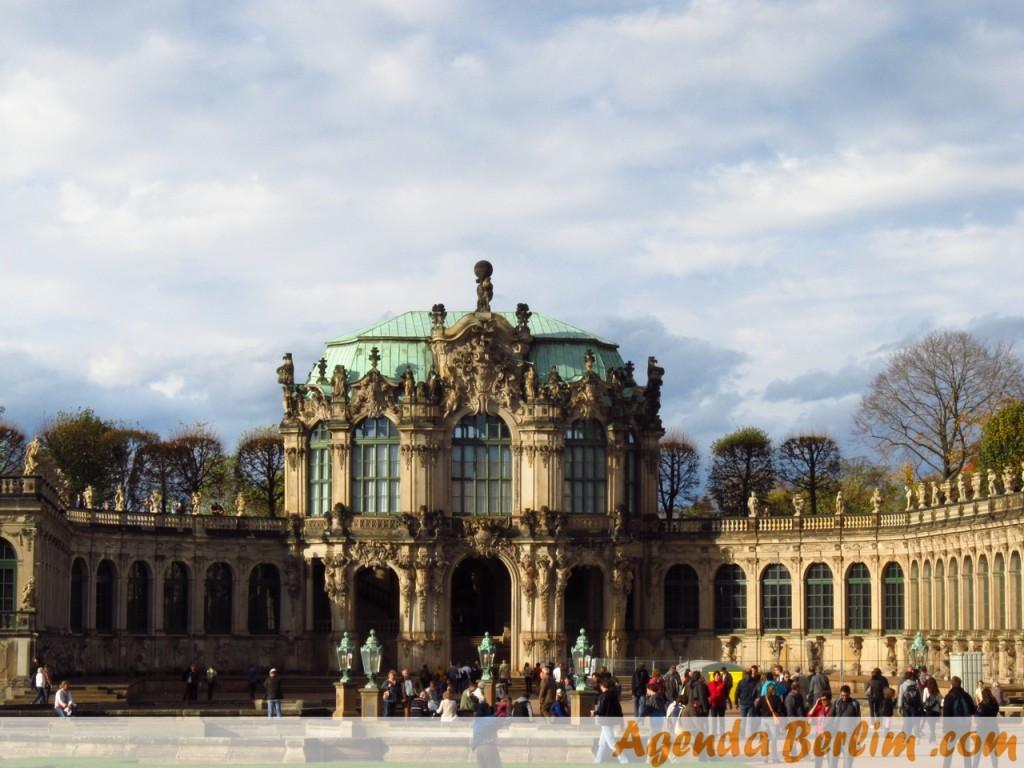 De Berlim a Dresden: Palácio Zwinger