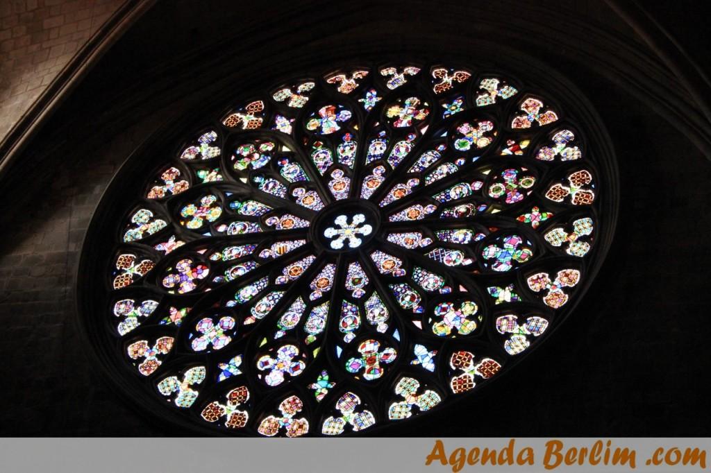 Linda rosácea da Basílica
