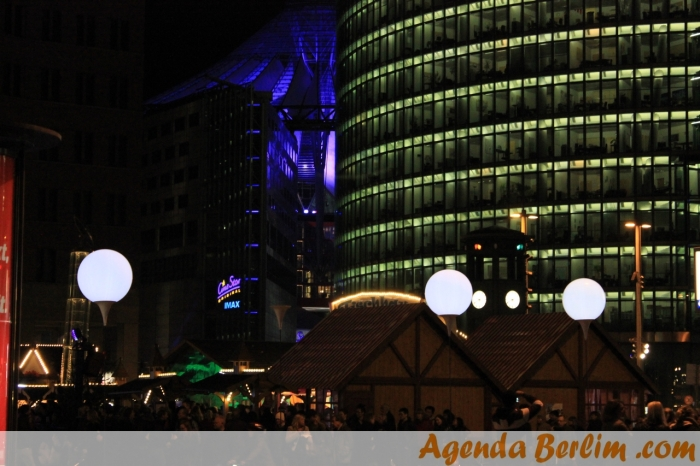 Potsdamer Platz e o Sony Center