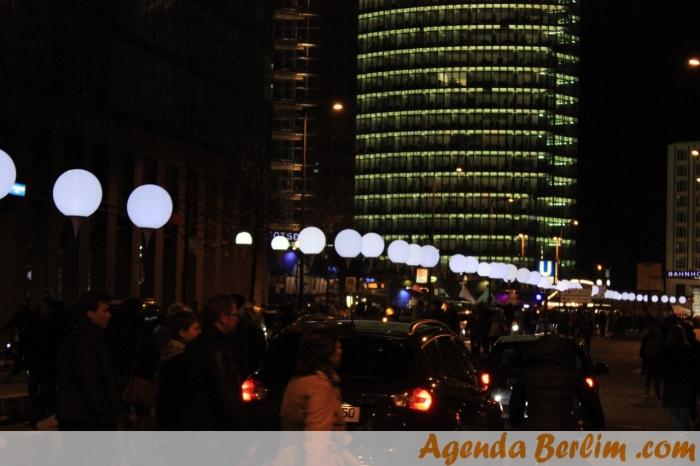 Balões na Potsdamer Platz