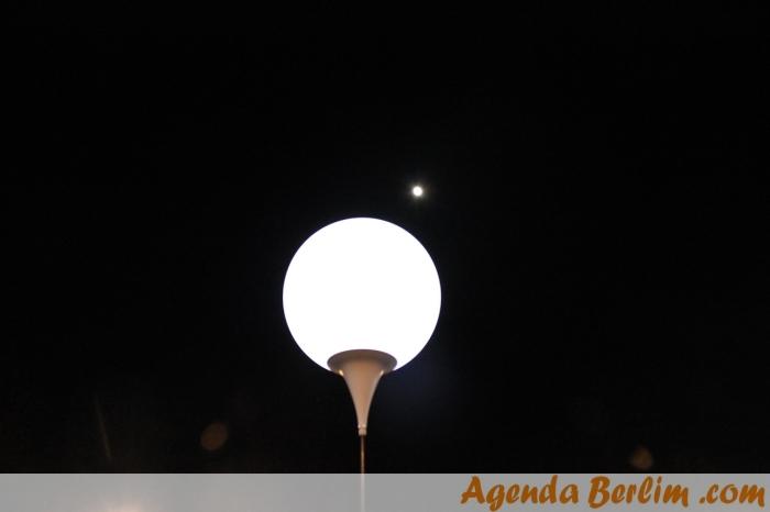 A lua também prestigiou o evento