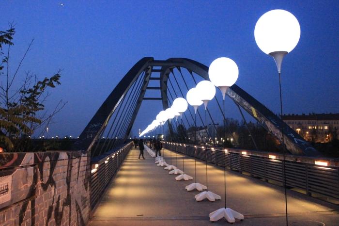 9 de Novembro de 2014, comemoração dos 25 anos da queda do muro