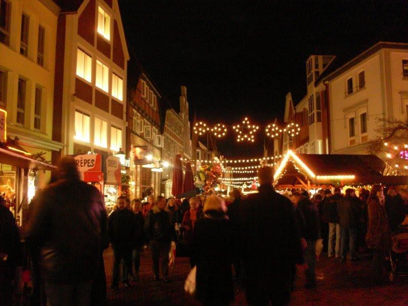 Mercado de Natal em Buxtehude