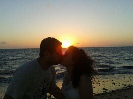 Assim o nosso ano começou! Na praia de Maria Farinha-PE.