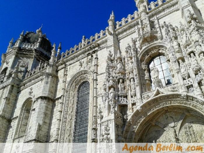 Fachada da Igreja do complexo do Mosteiro dos Jerônimos