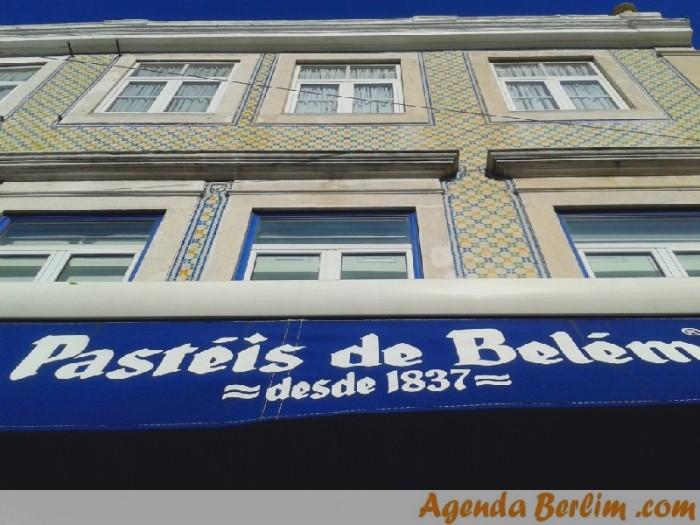 Vale a pena experimentar os famosos pastéis de Belém