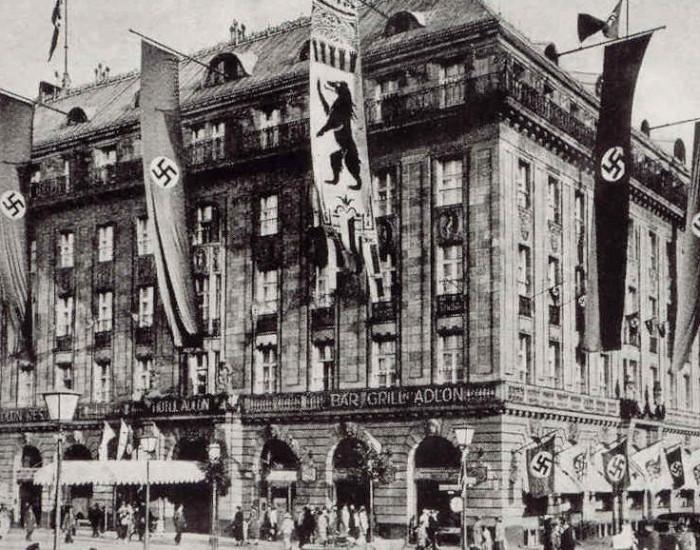 Hotel Adlon durante o regime nazista ©Bundesarchiv