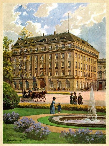 Hotel Adlon em 1907 ©Hotel Adlon Kempinski Berlin