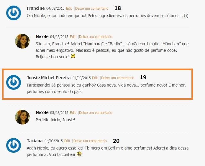 19: Jousie Michel Pereira