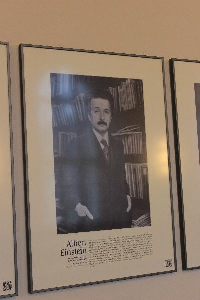 Einstein Nobel Universidade Humboldt Berlim ©Agenda Berlim