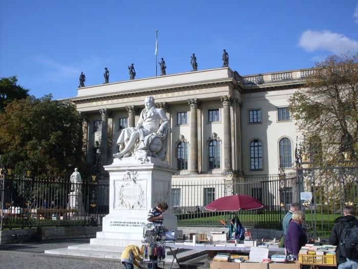 Universidade Humboldt de Berlim ©Agenda Berlim
