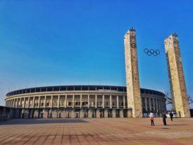 O Estádio Olímpico de Berlim