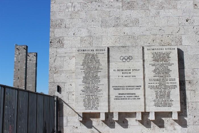Estádio Olímpico de Berlim Jesse Owens