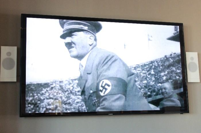 Hitler durante os jogos de 1936