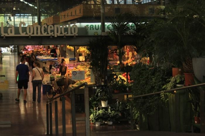 Eu preferi, por exemplo, o mercado La Concepcio do que o famoso La Boquería em Barcelona. ©AgendaBerlim