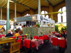 Autêntico mercado de bairro em Berlim: o Arminiusmarkthalle