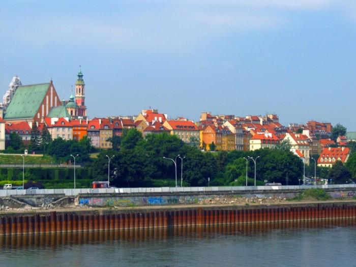 De Berlim a Cracóvia por Varsóvia; Varsóvia