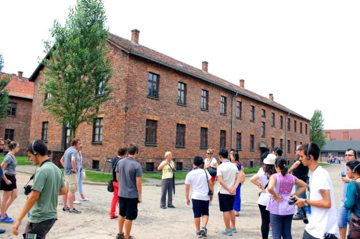 Como ir de Berlim a Cracóvia e Auschwitz; memorial em Auschwitz